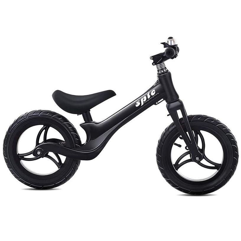 LZ-SNAIL Balance Bike Kids Balance Bike for 2, 3, 4, 5, 6, 7, 8 Years Old - Pneumatic Tire & Adjustable Handlebar & Padded Seat ( Color : Black )