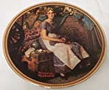 Norman Rockwell Dreaming in the Attic Plate