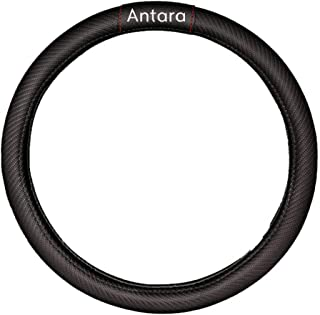 For Opel Antar Car Carbon Fiber Leather Steering Wheel Covers Cap Steering Wheel Cover Auto Fashion Auto Car Styling Inter...
