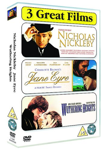 Classics Collection - Nicholas Nickleby/Jane Eyre/Wuthering Heights