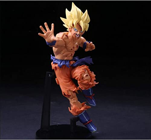 Qivor Spielzeug Statue Dragon Ball Spielzeug Statue Exquisite Anime Dekoration Dekoration Saiyan Spielzeug Modell Super Saiyan Sun Wukong 18 cm
