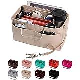 Purse Organizer, Multi-Pocket Felt Handbag Organizer, Purse Insert...