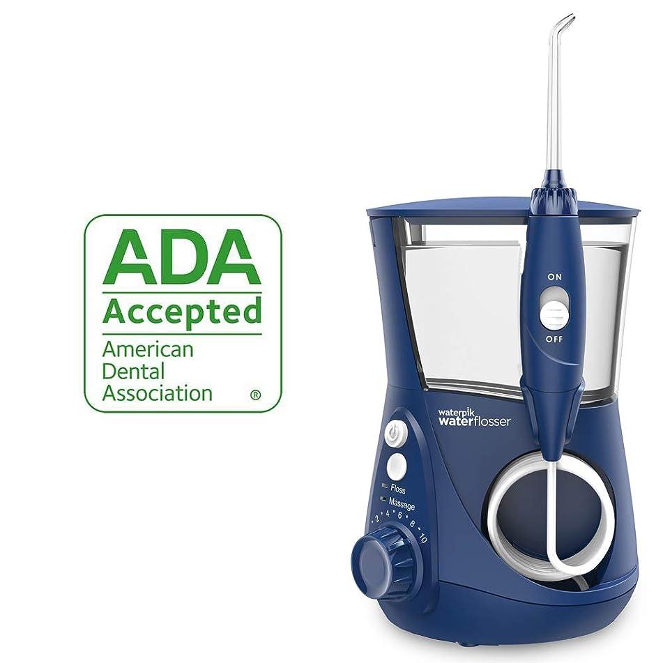 Waterpik Water Flosser Electric Dental Countertop Oral Irrigator For Teeth – Aquarius Professional, WP-663 Blue
