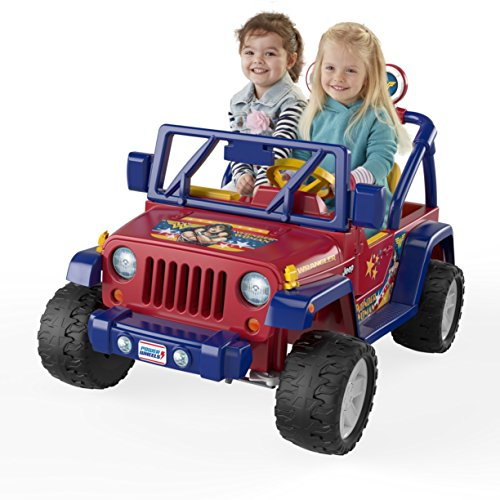 Fisher-Price Power Wheels Wonder Woman Jeep Wrangler