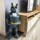 DAMAI STORE Accesorios For El Hogar Decoración Caja De Pañuelos Creativos/Sala De Estar/Decoraciones For Pisos/Mobiliario/Mover A Nuevos Regalos For El Hogar (Color : Natural)