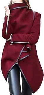Gorgeous Coat,KIKOY Womens Irregular Hem Long Sleeve Wrap Elegant Parka Jacket