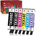 Compatible Ink Cartridges for Canon Printers PGI-280XXL CLI-281XXL
