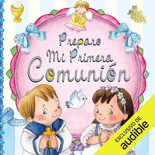 Diseño de la portada del título Preparo mi Primera Comunión