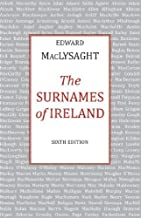 The Surnames of Ireland by MacLysaght, Edward (1985) Paperback