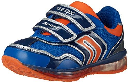 Geox B Todo Boy A, Zapatillas para Aprender a Andar, Azul (c0685royal/orange), 20 EU