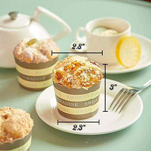TETHYSUN 6 cupcakes artificiales, simulación de espolvorear alimentos artificiales para tartas, alimentos, postres, modelo real