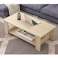 C-J-Xin-テーブル 80CM / 100CMコーヒーテーブル、ホームエンドテーブルソファサイドのためにリビングルーム、ホーム、オフィスサイドテーブル多機能ストレージ表 ダイニングテーブル (Color : #3, Size : 80*40*41.5CM)