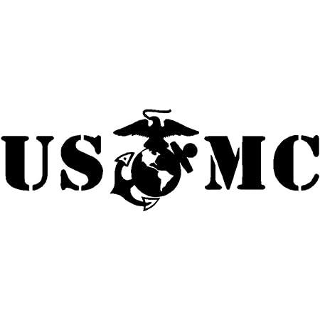 """U.S MARINES  SemperFi VINYL Decals Sticker 5/"""" x .75 BUY 2 GET 1 FREE"""