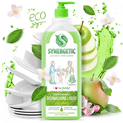 Gel de lavado sinérgico biodegradable 'manzana', 1 L