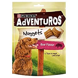 Adventuros Dog Treats Boar Flavour Nuggets 90g (PACK OF 4) 90g (x4) Purina Quantity: 4