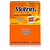 Motrin IB, Ibuprofen 200mg Tablets for Fever, Muscle Aches, Headache & Pain Relief, 50 pks of 2 ct.