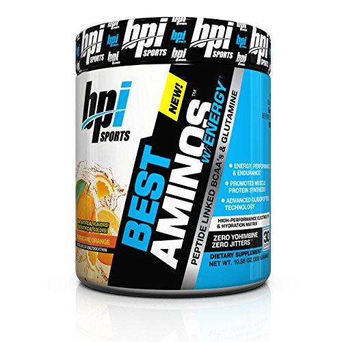 BPI Sports Best Aminos with Energy Peptide Linked BCAAs and Glutamine,...