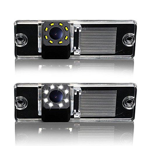 Super Pro HD Camera 1280 * 720 pixels 1000tv ligne couleur caméra de recul avec repères Convient pour PAJERO V3/V6/V8 Zinger (2009–2011)