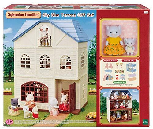 Sylvanian Families Set de regalo de terraza azul cielo - 5513