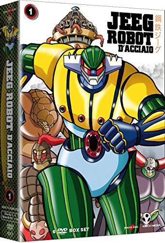 Jeeg Robot D\'Acciaio-Volume 1 (Collectors Edition) (6 DVD)