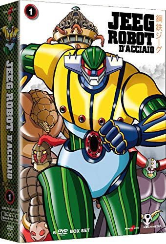 Jeeg Robot D'Acciaio-Volume 1 (Collectors Edition) (6 DVD)