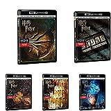 Harry Potter Pack de 8 películas + Animales Fantásticos Y Donde Encontrarlos + Animales Fantásticos: Los Crímenes De Grindelwald Blu-Ray 4k Uhd [Blu-ray]