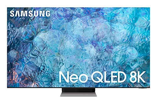 """Samsung TV QN900A Smart TV 75"""", Neo QLED 8K, Wi-Fi, Stainless Steel, 2021"""