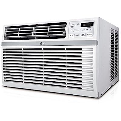 LG LW1216ER Window-Mounted Remote Control, 12,000 BTU 115V Air Conditioner, White