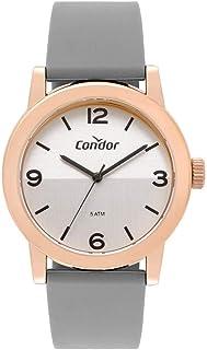 Relógio Condor Feminino Dia A Dia Rosé - CO2035MQU/8K