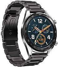 سوار معصم قابل للفك السريع لهاتف Huawei Watch GT البديل من الفولاذ المقاوم للصدأ