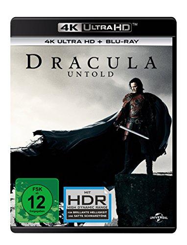 Dracula Untold  (4K Ultra HD) (+ Blu-ray) [Alemania] [Blu-ray]