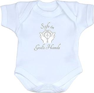 Babyprem Frühchen Baby Body Strampler Taufe Gott Kleidung Neue Jungen Mädchen
