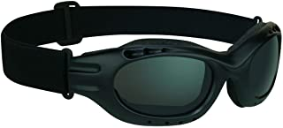 Motorcycle Goggles for Men and Women. Available From Smoke, Mirrored Blue, Mirrored Orange, Clear or Yellow Lenses.…