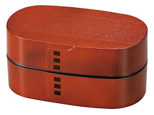 casabento–Bento Lunch Box mokuzai Zedernholz rot