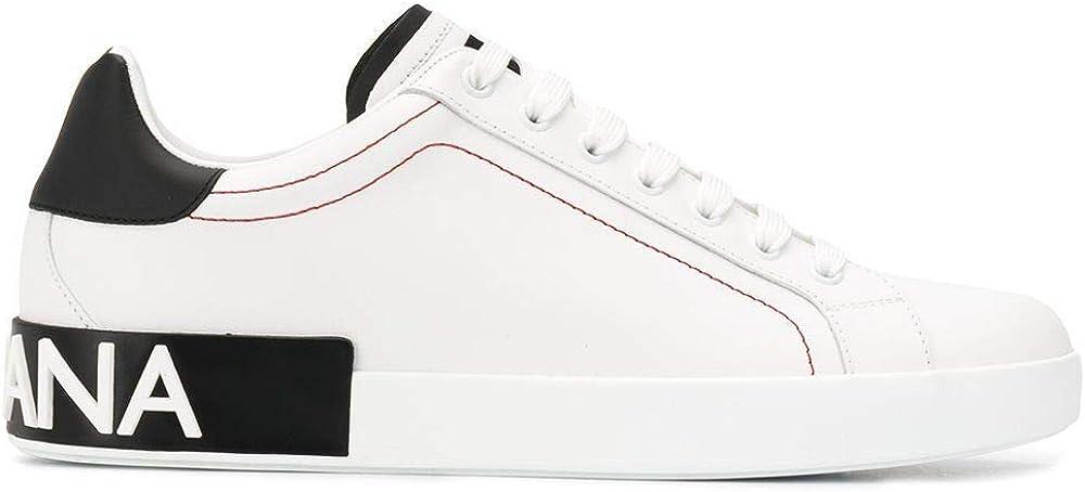 Dolce & gabbana luxury fashion, scarpe sneakers in pelle, per uomo CS1760AH52689697