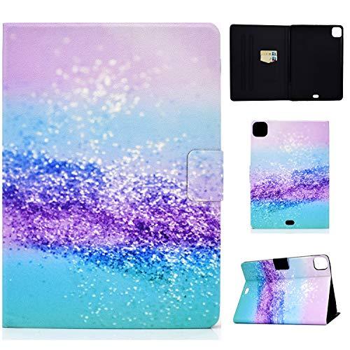 YKTO Funda Lindo Tablet para Apple iPad Pro 11 (2020/2018),11.0 Pulgada Delgada y Ligera Carcasa con Función de Soporte y Auto-Reposo,Funda de Cuero con Cierre Magnético Carcasa para,Arena de Color
