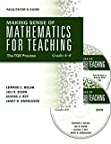 Making Sense of Mathematics for Teaching Grades 6–8: The TQE Process (DVD/CD/Facilitator's Guide/Book; video workshop with group discussion and activities for professional development)