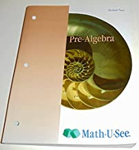 Pre-Algebra Student Text