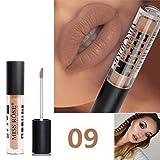 12 Colores Profesional Mate Pintalabios de Maquillaje Larga Duracion para Niñas por ESAILQ Y