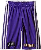 adidas Y WNTHPS Rev SH - Pantalón Corto para Hombre, Color Morado/Amarillo/Gris, Talla 140