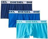 Diesel SHAWN3PK Bóxers, Azul, XL para Hombre