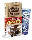 NESTLE lote chocolate negro postre 2x250gr + leche condensada 170gr gratis