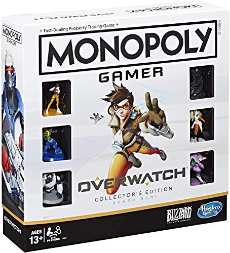Hasbro Monopoly Gamer Overwatch Collector's Edition Board Game