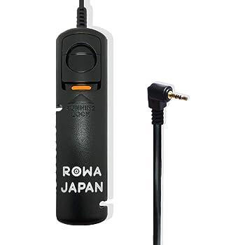 【ロワジャパン】【AFロック機能付/ライターサイズ/超軽量】Canon キヤノン RS-60E3 / PENTAX ペンタックス CS-205 対応 ミニ シャッター リモコン レリーズ