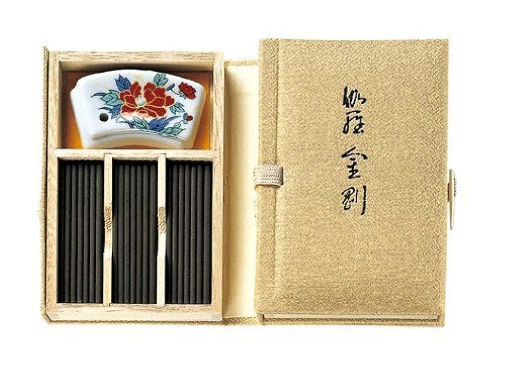 共産主義シルクイソギンチャク香木の香りのお香 伽羅金剛 スティック60本入