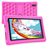 Kids Tablets 7 inch HD Display Android Tablet for Kids Toddler Tablet BENEVE Kids Edition Tablet with WiFi Dual Camera Childrens Tablet 2GB + 16GB Parental Control,Google Play Store(Pink)
