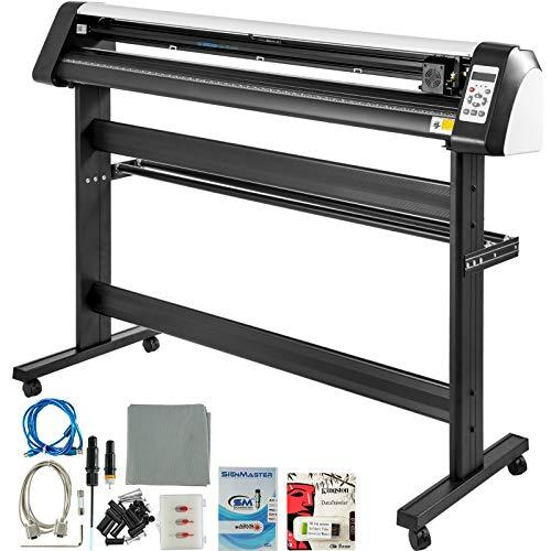 VEVOR 53 Inch Vinyl Cutter Machine Vinly Sign Cutting Plotter Starter Bundle Kit Software