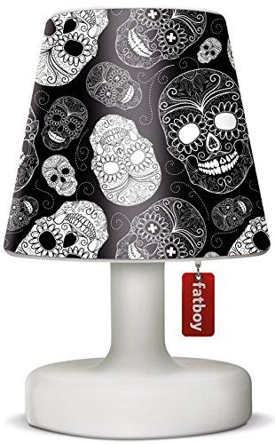 Fatboy® Edison the Petit + Cooper Cappie skull black | Tischlampe / Outdoor Lampe / Nachttischlampe | Kabellos & per USB Aufladbar