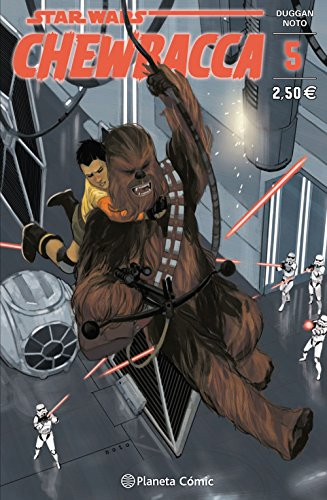 Star Wars Chewbacca nº 05/05 (Star Wars: Cómics Grapa Marvel)