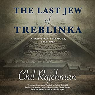 The Last Jew of Treblinka audiobook cover art